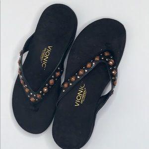 Vionic embellished sandals.